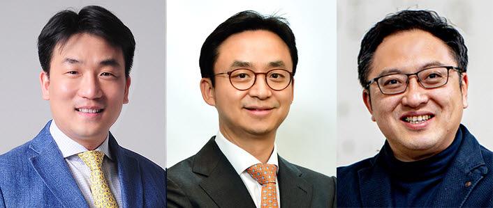 (왼쪽부터)서울대병원 정창욱, 최의근, 포스텍 박성민 교수