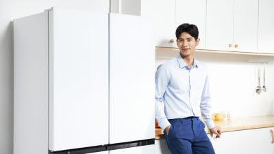 캐리어냉장, '클라윈드 피트인 파스텔 냉장고' 출시
