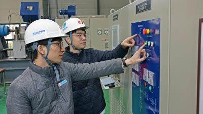 한전, 가스터빈 기동장치 국산화 성공…상업운전 개시