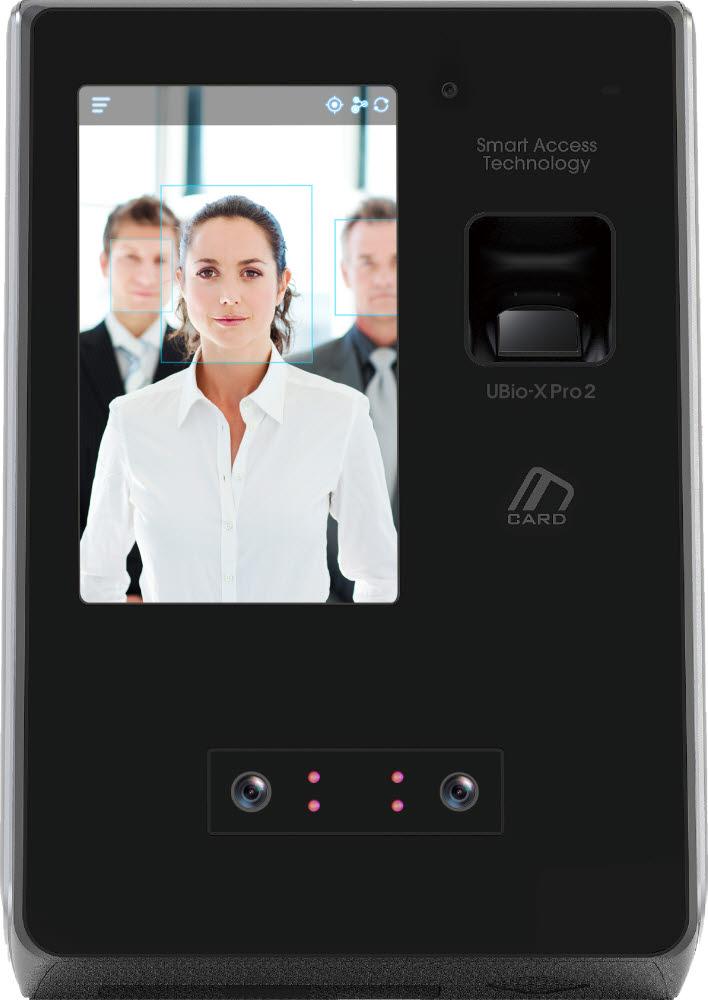 유니온커뮤니티 신제품 얼굴인식 단말기 `UBio-X Pro2