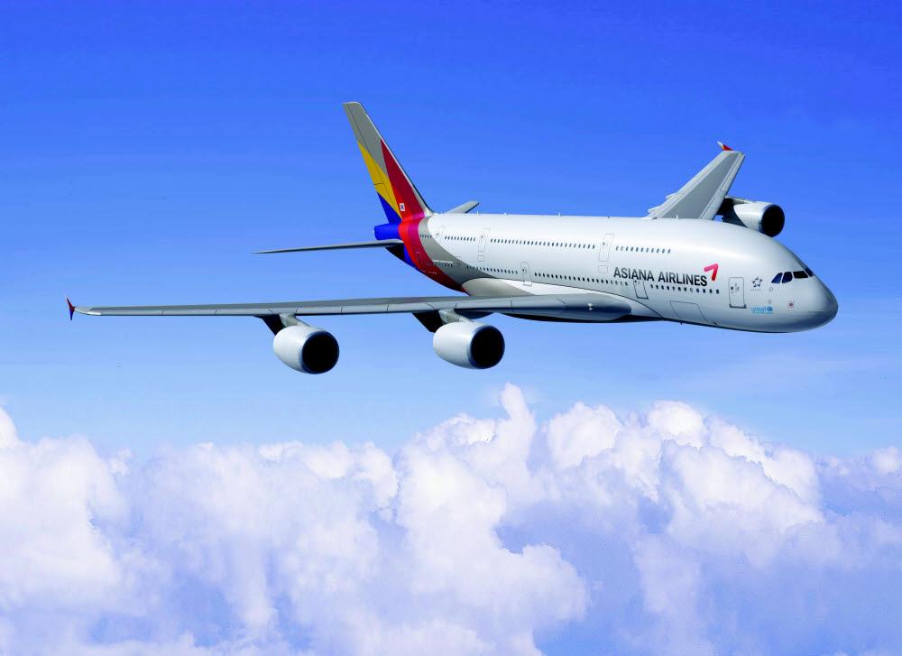 아시아나항공 A380 항공기 (제공=아시아나항공)