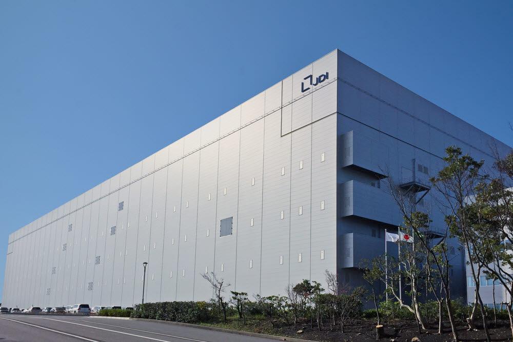 JDI 하쿠산 공장 전경 자료:JDI