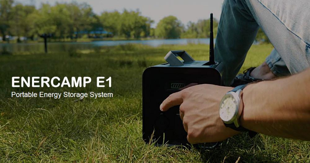 에너캠프가 해외 시장 다각화를 통해 글로벌 스마트 배터리 전문기업으로 성장하고 있다. 사진은 에너캠프가 판매중인 파워스테이션 제품.