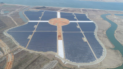 남부발전, 100㎿급 솔라시도 태양광 상업운전