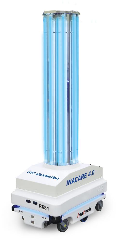살균자율주행로봇 인아케어(INACARE) 4.0 제품 모습