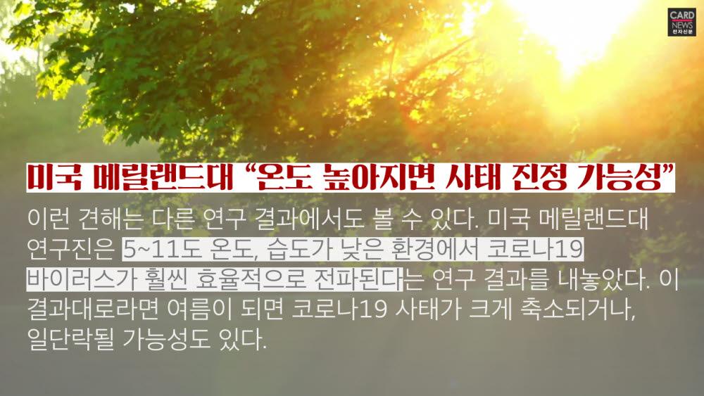 [카드뉴스]코로나19, 여름엔 사라질까