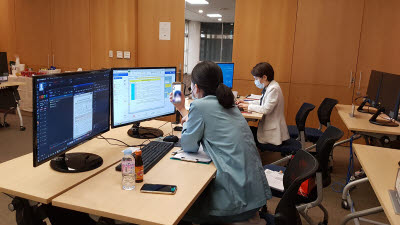 [코로나19 함께 넘자]분당서울대병원, 디지털헬스케어 기술로 코로나19 일선 의료진 지원