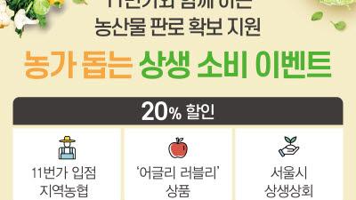 {htmlspecialchars(NH농협카드, 11번가와 농산물 판로 확보 지원)}