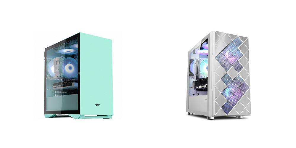 멀티미디어용 에누리 조립 데스크톱PC MT-86(좌)과 MT-88