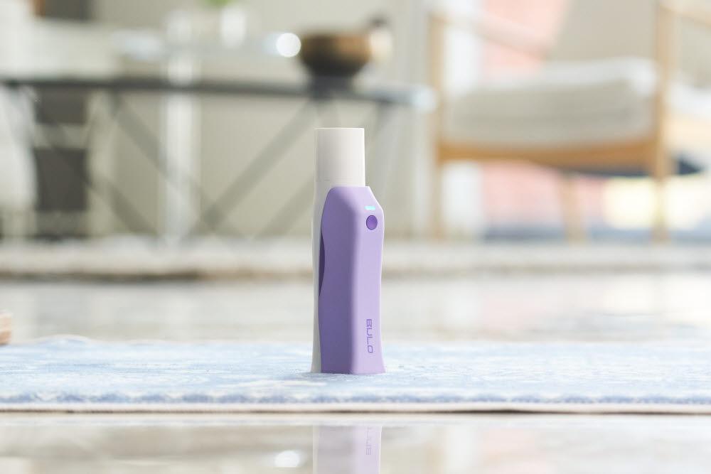 폐 건강관리 사물인터넷(IoT) 솔루션 불로(BULO) 제품 모습