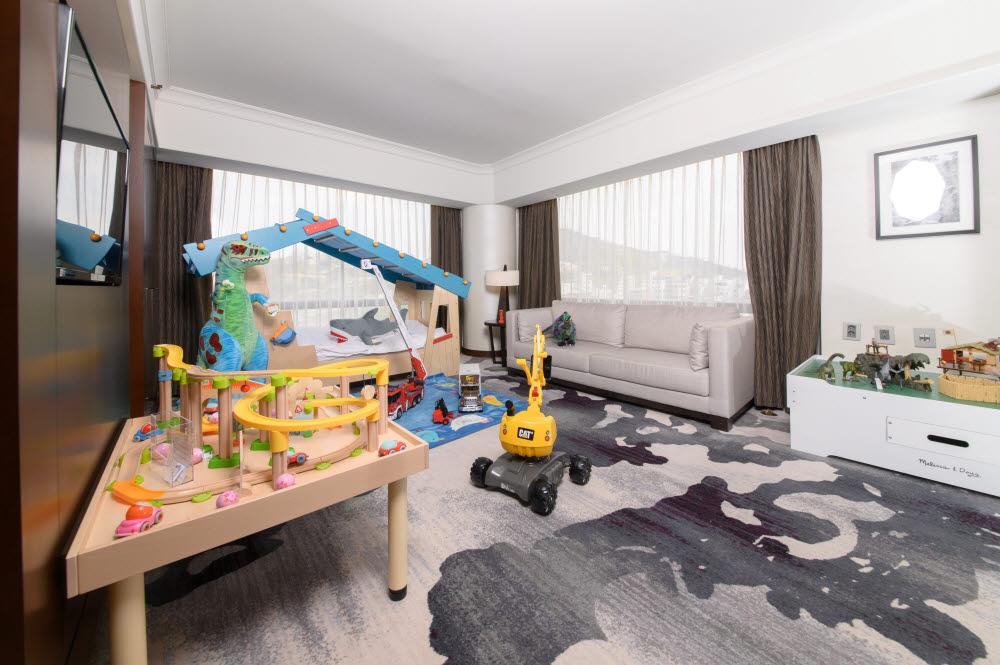 Millennium Hilton Seoul Hava Boy Theme Room