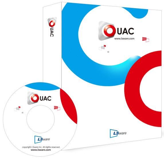 엘에스웨어가 CC인증 EAL3을 획득한 서버접근제어솔루션 옴니가드 UAC 제품 이미지.