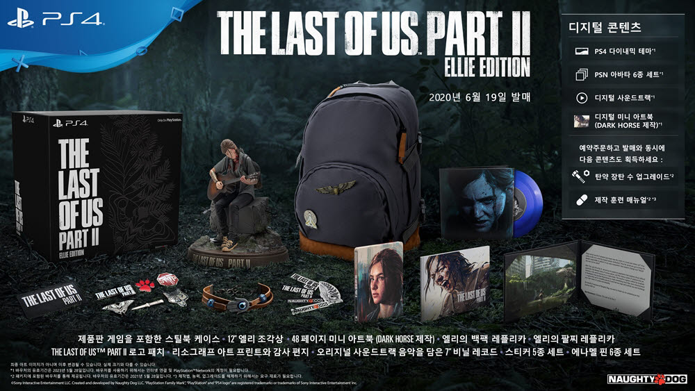 '더 라스트 오브 어스2', 디스크 버전 4주간 예약 판매