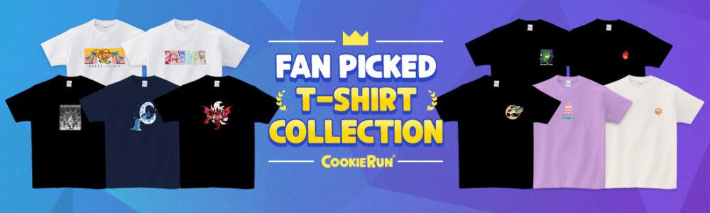 데브시스터즈, 팬들과 함께 만든 쿠키런 티셔츠 10종 출시