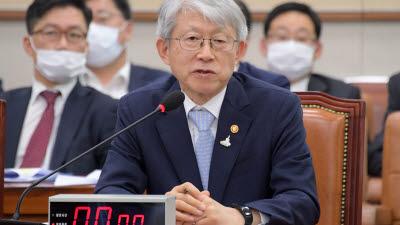 법사위 출석한 최기영 장관