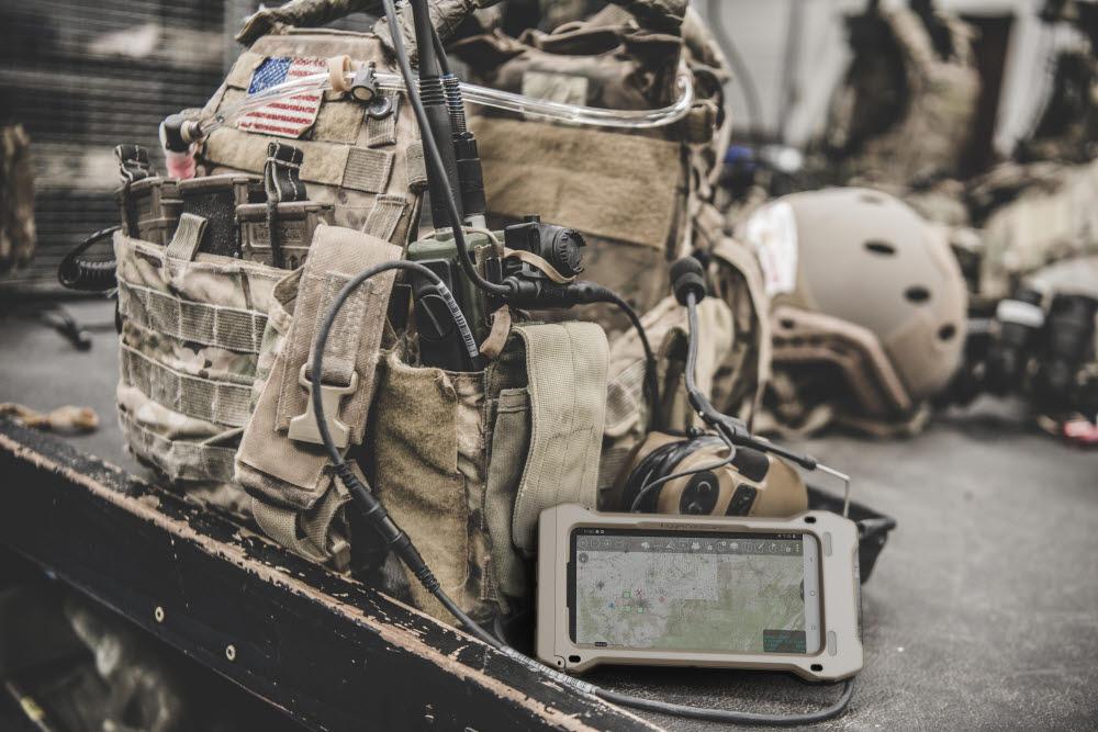 미군 전술 장비에 장착된 갤럭시S20 TE