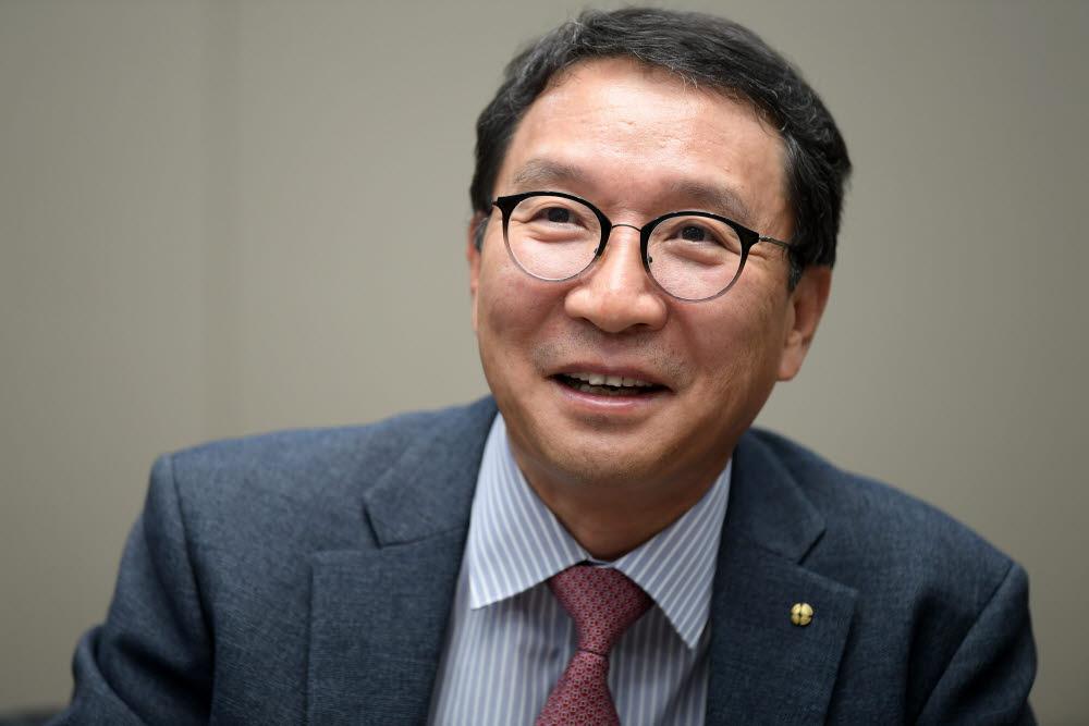 김학수 금융결제원장, 사진=이동근기자 foto@etnews.com