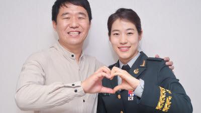 """""""코로나 속 빛난 부부애"""" 삼성SDI 직원과 간호장교 아내 사연"""