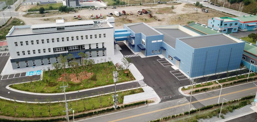 순천 고무소재지원센터 전경 자료:한국화학융합시험연구원(KTR)