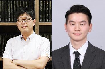 노준석 포스텍 교수(왼쪽)와 통합과정 장재혁 씨