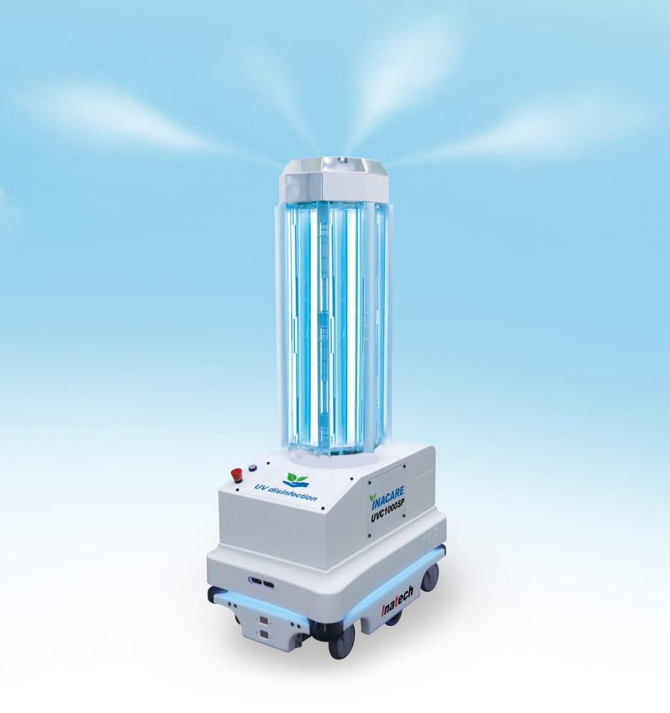 방역기능을 강화한 무인방역 자율주행 자외선(UV) 살균로봇 인아케어(INACARE) 시리즈