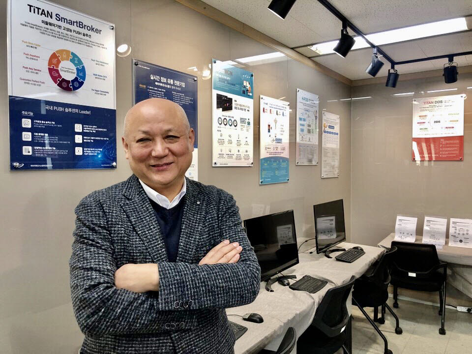 임종혁 에이치투오시스템테크놀로지 대표가 서울 본사에서 창립 20주년 소회를 전했다.