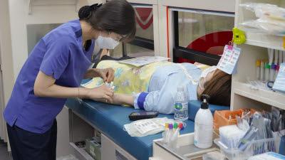 코이카, 코로나19 극복 사랑나눔 헌혈 동참