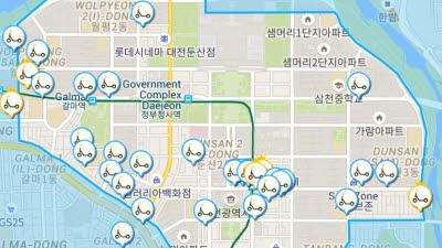 디어코퍼레이션, 전동킥보드 공유 서비스 '디어' 대전 진출