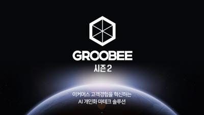 플래티어, AI 개인화 마테크 솔루션 '그루비 시즌2' 출시