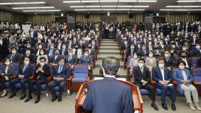 여야, 5일 개원두고 신경전…민주 '법대로' 통합 '일당독재'