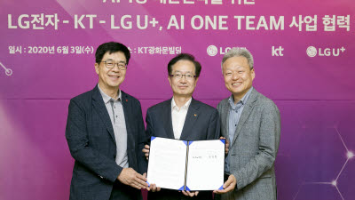 LG전자·KT·LG유플러스, AI 1등 위해 뭉쳤다