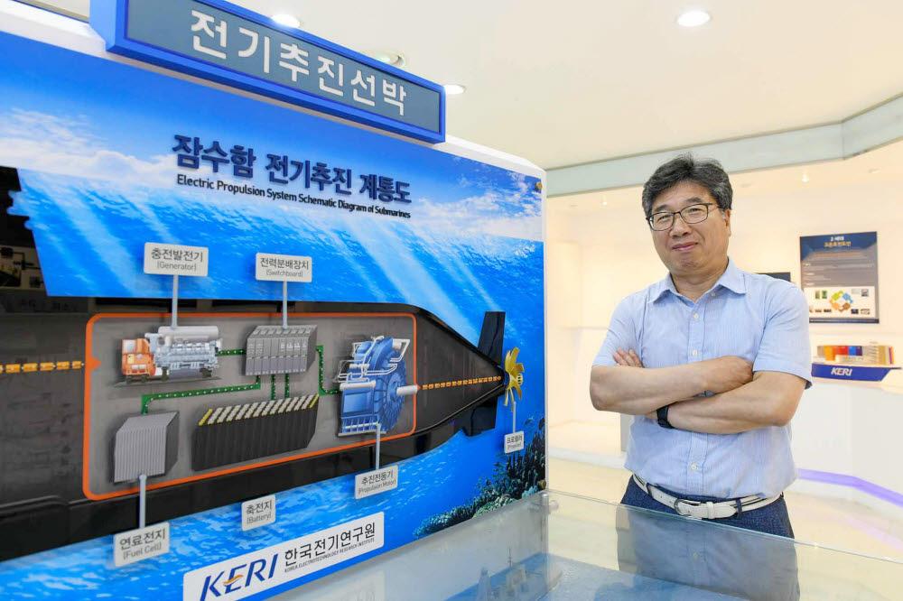 전기추진선박 육상시험소를 총괄 운영하고 있는 손홍관 KERI 시스템제어연구센터장