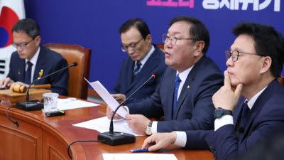 """김태년 """"야당이 법사위 맡았던 것 '전통'아냐…국정 발목잡기일 뿐"""""""