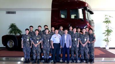 타타대우상용차, 2020 상반기 군부대 정기 교육 지원