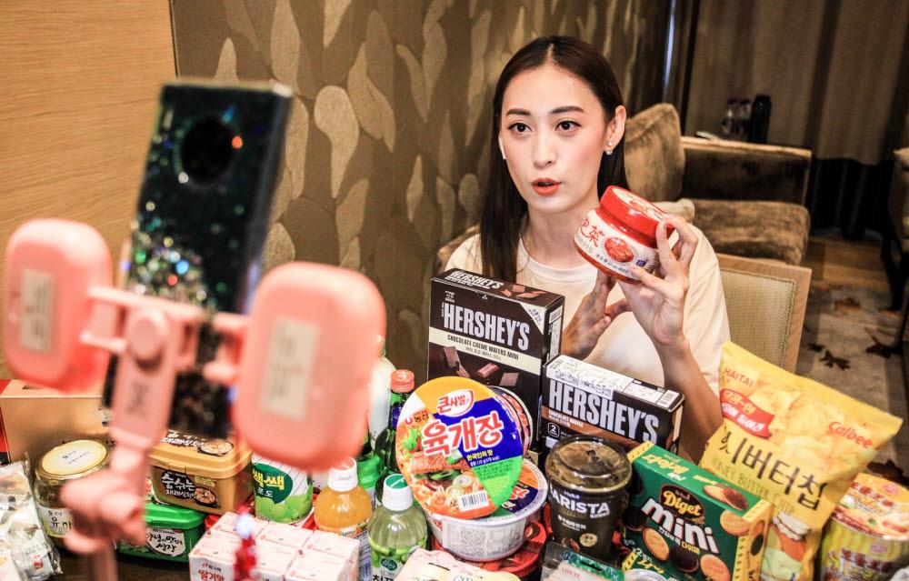 중국 왕홍의 슬기로운 집콕생활