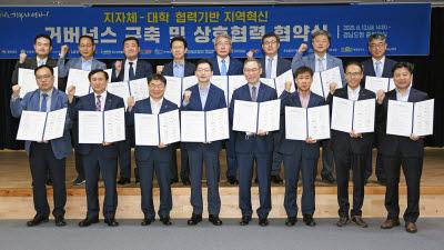 NHN, 경남도와 '지자체-대학 협력기반 지역혁신 사업' 추진 업무협약