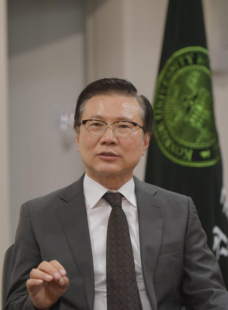 전영재 건국대 제21대 신임 총장