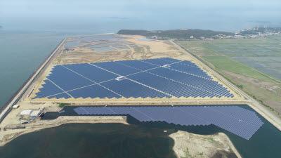 동서발전, 당진화력 회매립장에 25㎿급 태양광 준공
