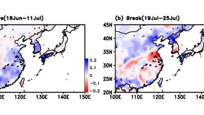집중호우 후 긴 가뭄…동아시아 '극한강수' 주의보