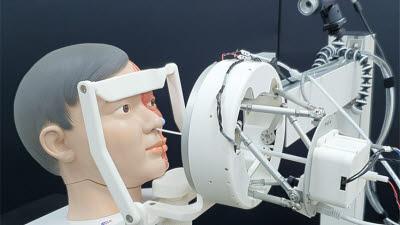 로봇으로 '비대면' 검체 채취…감염병 확산 예방