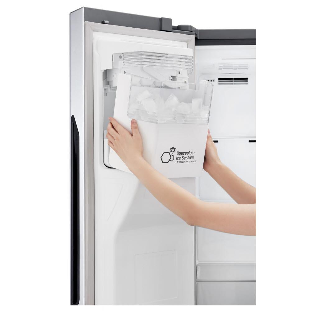 LG전자 양문형 냉장고 도어 제빙 시스템