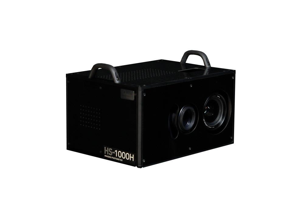 한국오츠카전자가 출시한 초고속 2차원 휘도계 HS-1000H 제품 모습