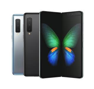 지난해 출시된 삼성전자 폴더블 스마트폰 갤럭시폴드