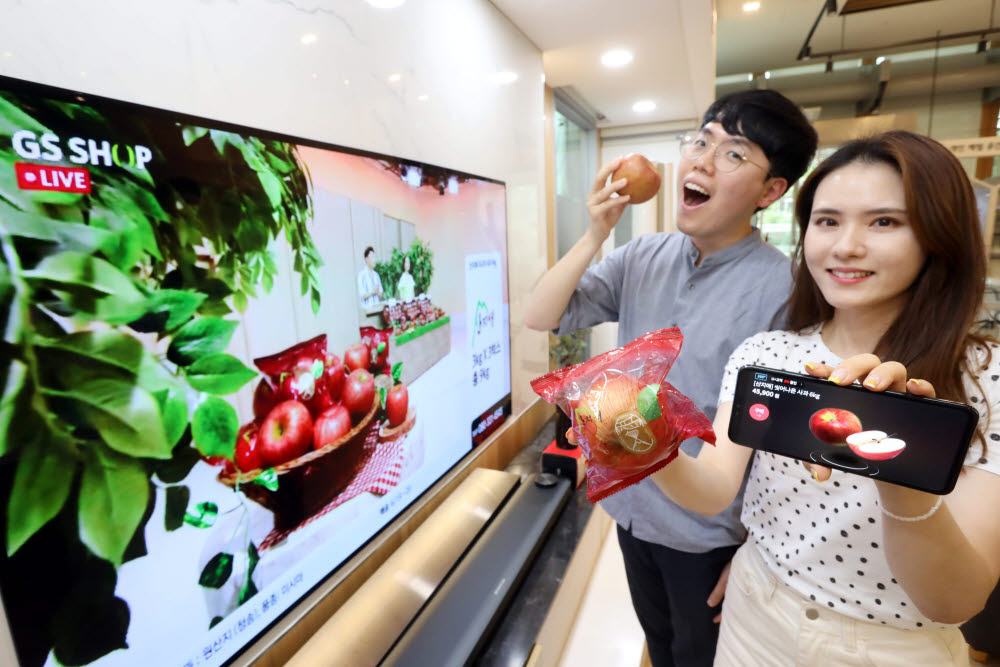 LG유플러스-GS홈쇼핑, 농산물과 中企 상품에 3D AR기술 적용