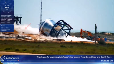 로봇 개, 스페이스X 우주선 실험 사고 현장에 투입 화제