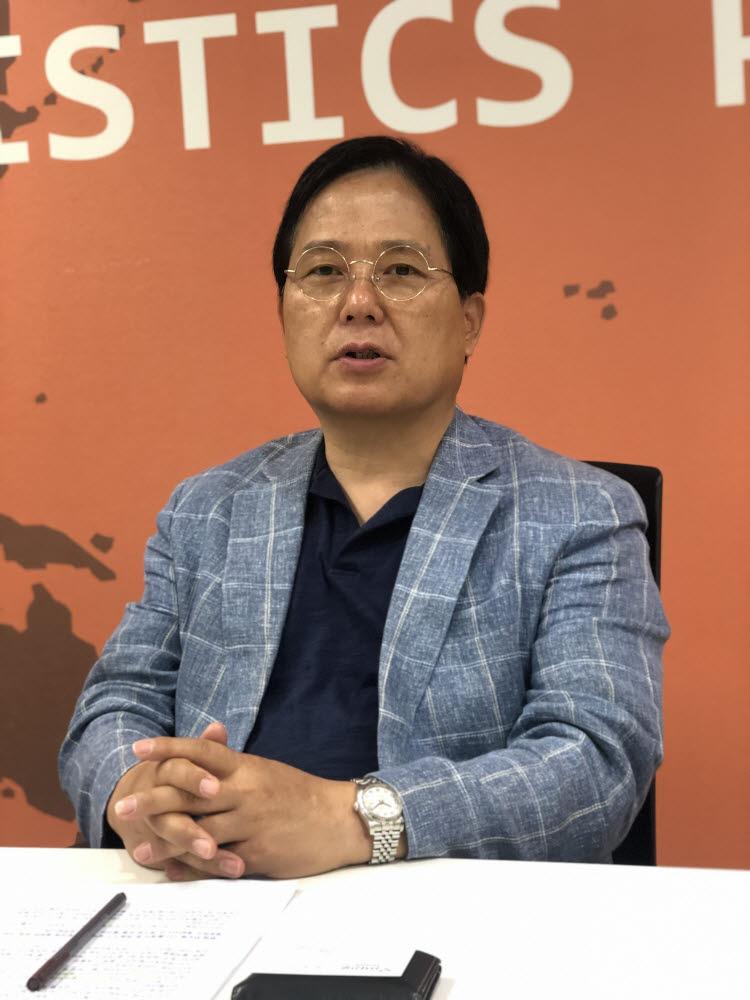 허욱 H&P로지스 대표