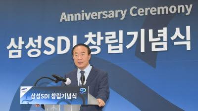 """전영현 삼성SDI 사장 """"'초격차 기술 중심 회사' 도약""""…창립 50주년"""