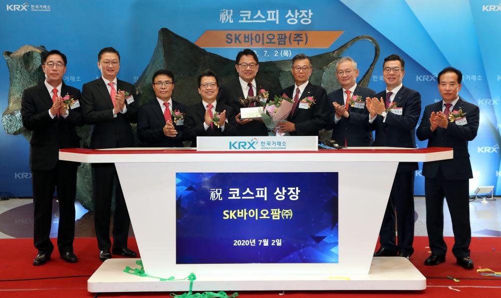 SK바이오팜 유가증권시장 상장