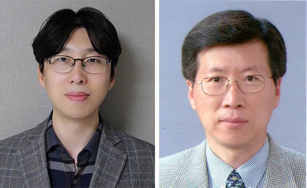사진 왼쪽부터 정연식 교수, 전덕영 교수.