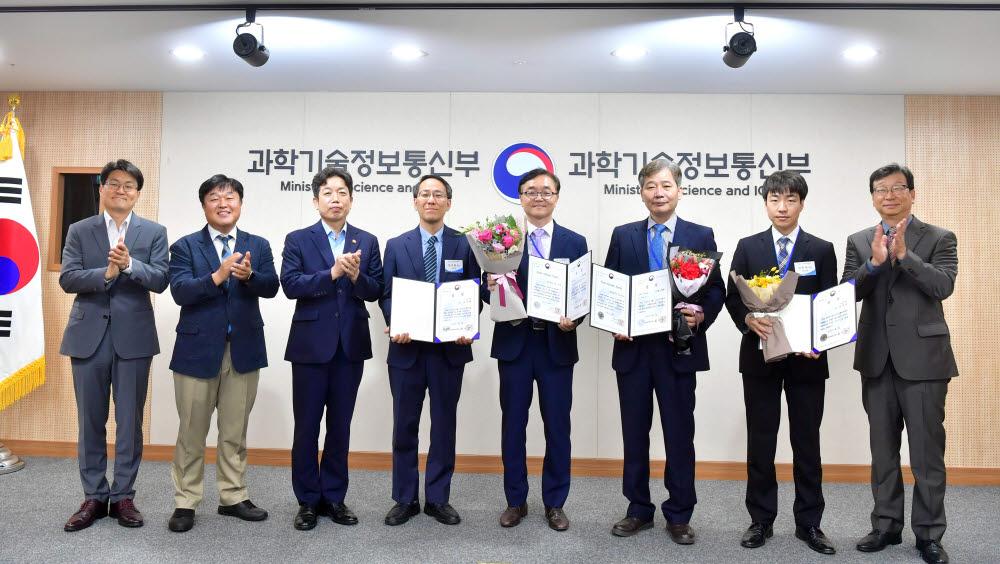 K-ICT 신SW상품대상 5·6월상 시상식